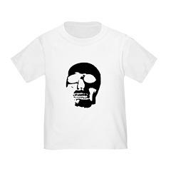 Black and White Goth Skull T