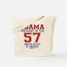 """Obama """"57 States"""" Tote Bag"""