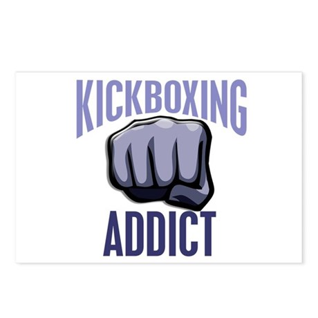 Kickboxing Addict Postcards (Package of 8)