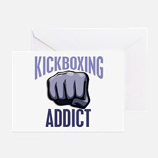 Kickboxing Addict Greeting Cards (Pk of 10)