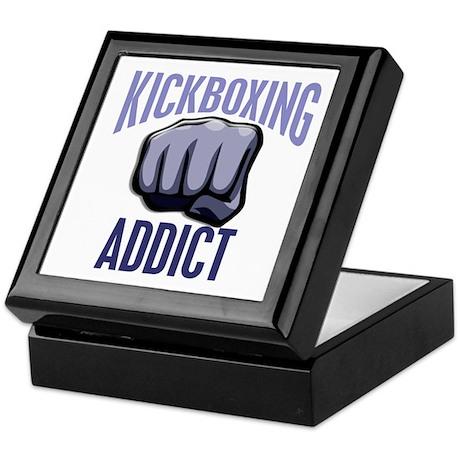 Kickboxing Addict Keepsake Box