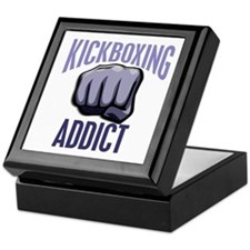 Kickboxing Addict Keepsake Box