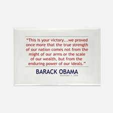 """Obama """"This is Your Victory"""" (11-4-08) Rectangle M"""