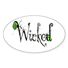 Wicked Oval Decal