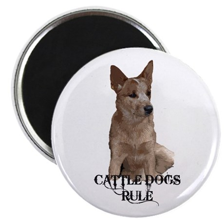 Cattle Dogs Rule Magnet