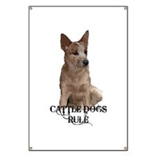 Cattle Dogs Rule Banner
