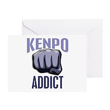 Kenpo Addict Greeting Card