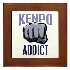 Kenpo Addict Framed Tile