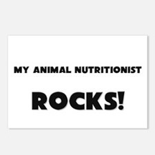 MY Animal Nutritionist ROCKS! Postcards (Package o