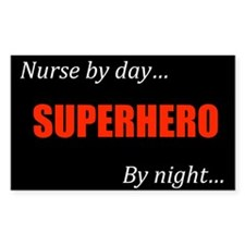 Nurse Gift Rectangle Decal