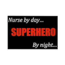Superhero Nurse Magnet