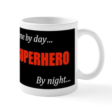 Superhero Nurse Coffee Cup
