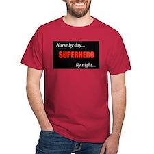 Superhero Nurse Colored Shirt