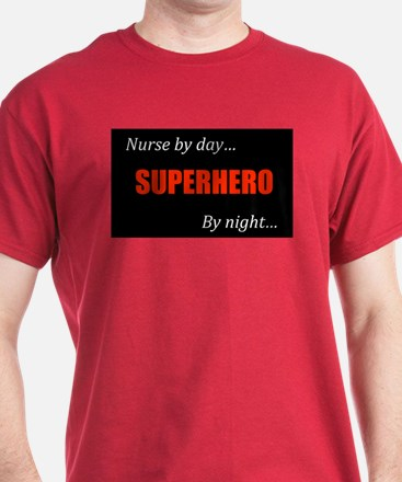 Superhero Nurse Colored Shirt
