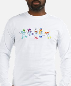 Cool Ice skating for children Long Sleeve T-Shirt