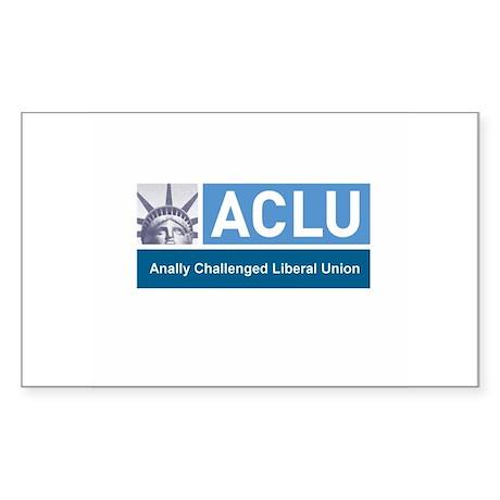 ACLU Rectangle Sticker