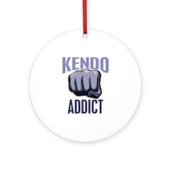 Kendo Addict Ornament (Round)