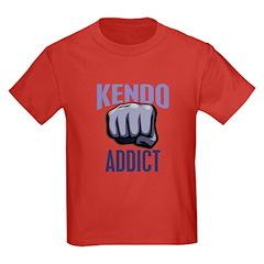 Kendo Addict Kids Dark T-Shirt