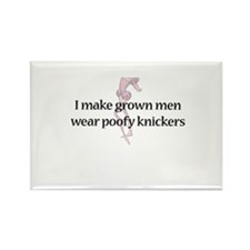 Poofy Knickers Rectangle Magnet