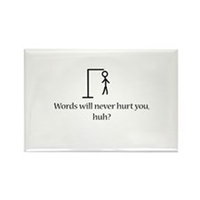 Hang Man Rectangle Magnet (10 pack)
