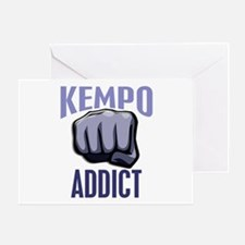 Kempo Addict Greeting Card