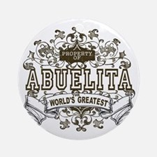 Property Of Abuelita Ornament (Round)