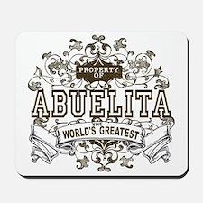Property Of Abuelita Mousepad