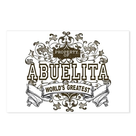 Property Of Abuelita Postcards (Package of 8)