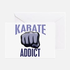 Karate Addict Greeting Card