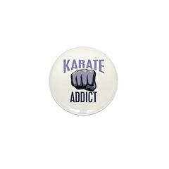 Karate Addict Mini Button (10 pack)