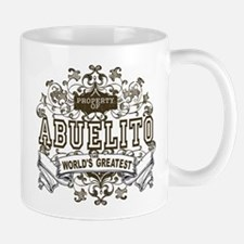 Property Of Abuelito Small Mugs