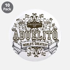 """Property Of Abuelito 3.5"""" Button (10 pack)"""