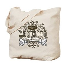 Property Of Abuelito Tote Bag