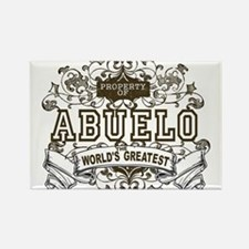 Property Of Abuelo Rectangle Magnet