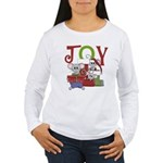JOY Holiday Mice Women's Long Sleeve T-Shirt