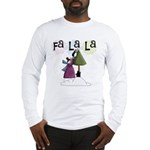 Fa La La Holiday Long Sleeve T-Shirt