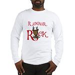 Reindeer Rock Long Sleeve T-Shirt