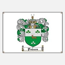 Irish Powers family Banner