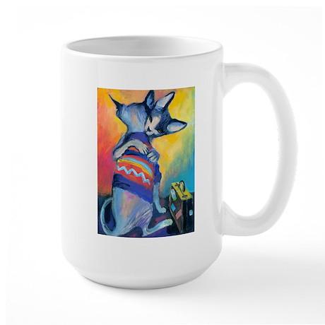 Sphynx 22 Large Mug