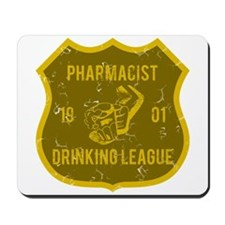 Pharmacist Drinking League Mousepad