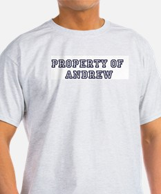Property of ANDREW T-Shirt