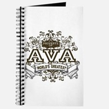 Property Of Ava Journal