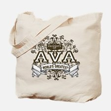Property Of Ava Tote Bag