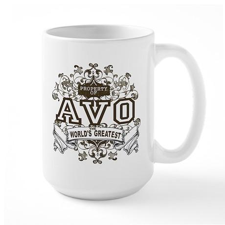 Property Of Avo Large Mug
