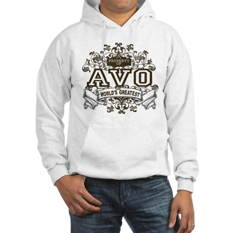 Property Of Avo Hooded Sweatshirt