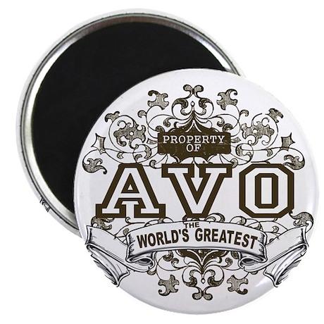 Property Of Avo Magnet