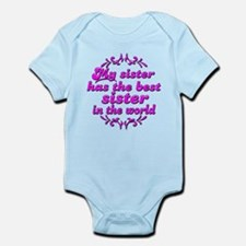 Best Sister Infant Bodysuit