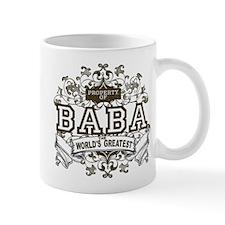 Property Of Baba Small Mugs
