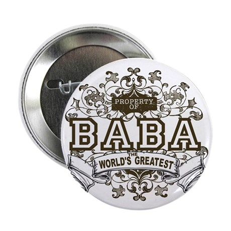"""Property Of Baba 2.25"""" Button (10 pack)"""