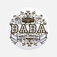 """Property Of Baba 3.5"""" Button (100 pack)"""